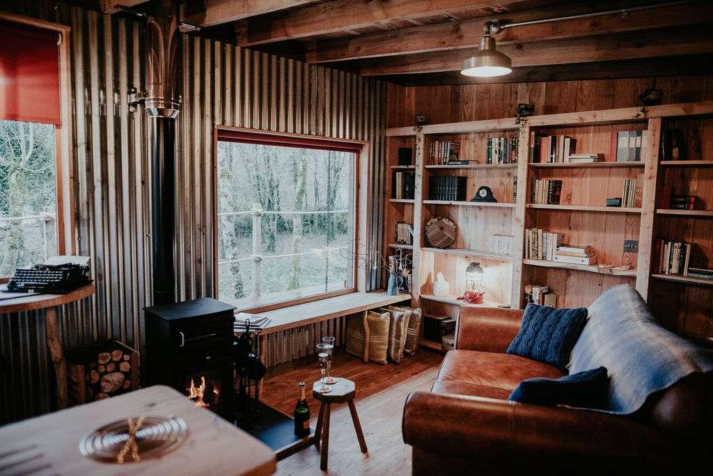 Log Jam interior view